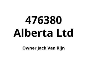 476380 Alberta Ltd